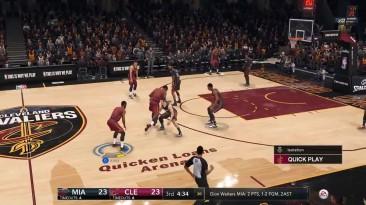 10 минут игрового процесса NBA Live 18
