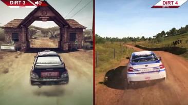 Сравнение   DiRT 3 (2011) vs. DiRT 4 (2017)   PC   На ультра