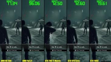 Dead Rising 4 GTX 1060 Vs AMD RX 480 Vs GTX 970 Vs GTX 780 TI Vs AMD Fury X (Частота кадров Сравнение)
