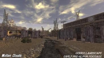 Ремейк Fallout 2. Окрестности Гекко. Ранняя Пре-Альфа [Molten Clouds]
