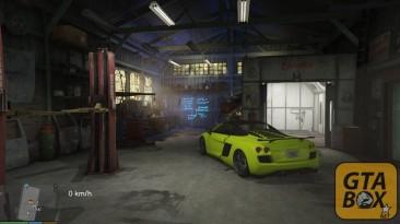 "Grand Theft Auto 5 ""МОД NEED FOR SPEED GARAGE / ГАРАЖ ИЗ NFS"""