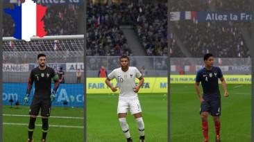 """FIFA 18 """"France 2018 NEW kits + minikits"""""""