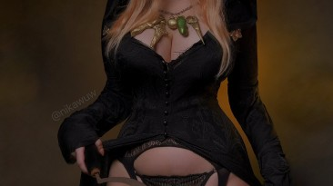 Сексуальный косплей ведьмы Даниэлы