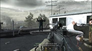 Call of Duty 4: Modern Warfare - Виктор Захаев взрывается