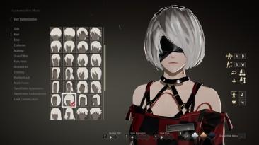 "Code Vein ""2B Hair & 2B Mask"""