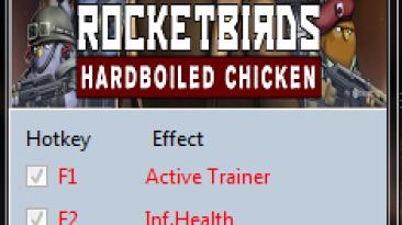 Rocketbirds ~ Hardboiled Chicken: Трейнер/Trainer (+2) [1.0] {MrAntiFun}