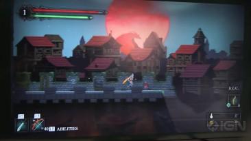"""Death's Gambit """"двухмерная Dark Souls геймплей"""""""