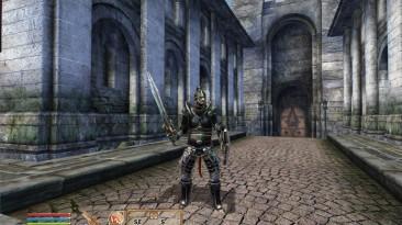 """TES 4: Oblivion """"Серебренная эбонитовая броня"""""""