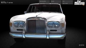 Car Mechanic Simulator 2015- Bentley 2016 DLC - Геймплей (PC HD)