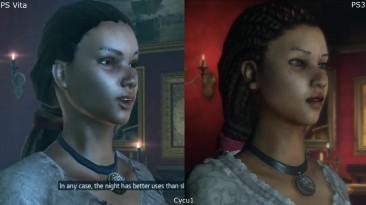 Assassin's Creed Liberation PS Vita vs PS3 Сравнение графики