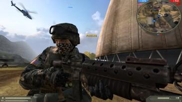 """Battlefield 2 """"Дополнительный солдат (Лесной Камуфляж, US)"""