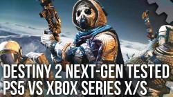 Destiny 2 для PS5 и Xbox Series X|S. Digital Foundry проанализировали новую версию лутер-шутера Bungie