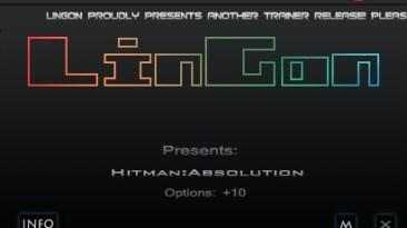 Hitman - Absolution: Трейнер/Trainer (+10) [1.0.447.0] {LinGon}
