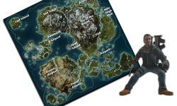 Фигурка Rico и складная карта-путеводитель из Just Cause 3