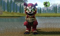 Маунт «Стремительный багровый таре» для игры ArcheAge