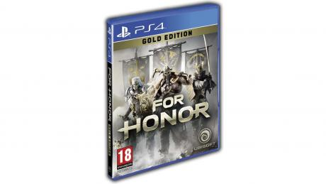 Диск с игрой For Honor: Gold Edition для PS4