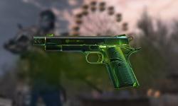 """M1911A1 """"Радиация"""" для Warface - Пин-код"""