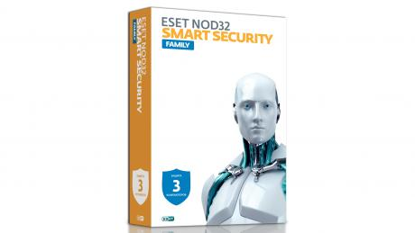ESET NOD32 Smart Security Family - Антивирус