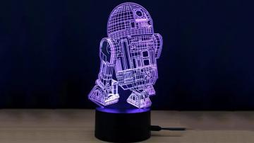 M.Sparkling 3D RGB TD130 - Ночной USB-светильник