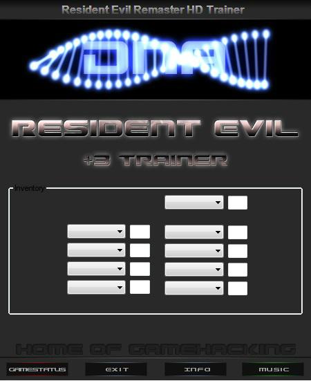 Resident Evil / Biohazard HD REMASTER: Трейнер/Trainer (+3