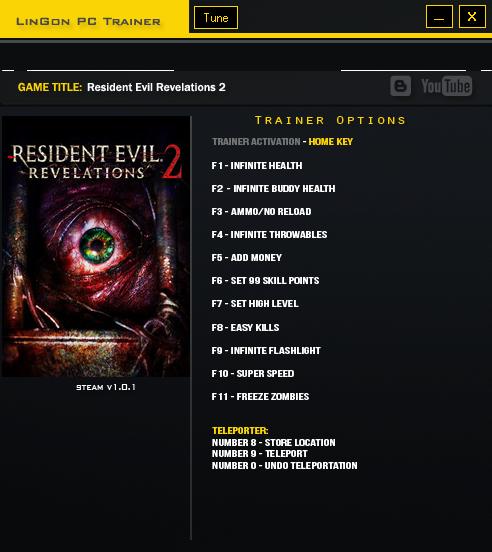 Трейнер для resident evil revelations 2 скачать