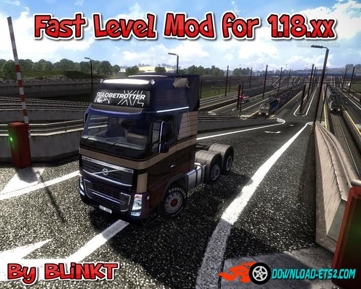 Euro Truck Simulator 2: Чит-Мод/Cheat-Mode (Fast Level Mod