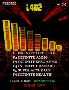 Left 4 Dead 2: Трейнер/Trainer (+6) [2 1 3 9] {LIRW / GHL} - Читы