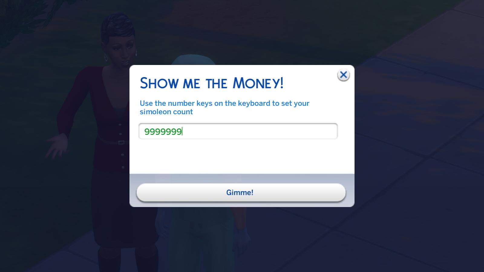 как ввести код в игре симс 4 на деньги