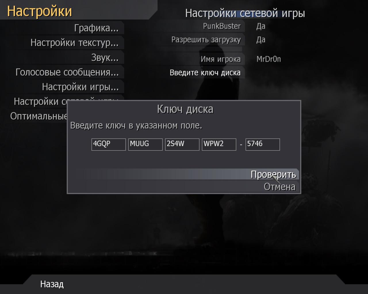 PUNKBUSTER COD4 PC