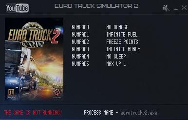скачать трейнер на деньги для игры euro truck simulator 2