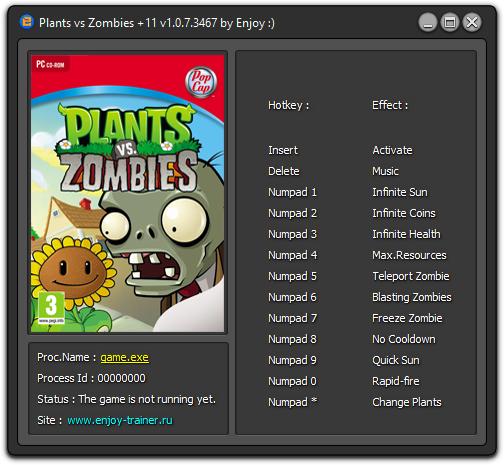 чит код на деньги в игре растения против зомби