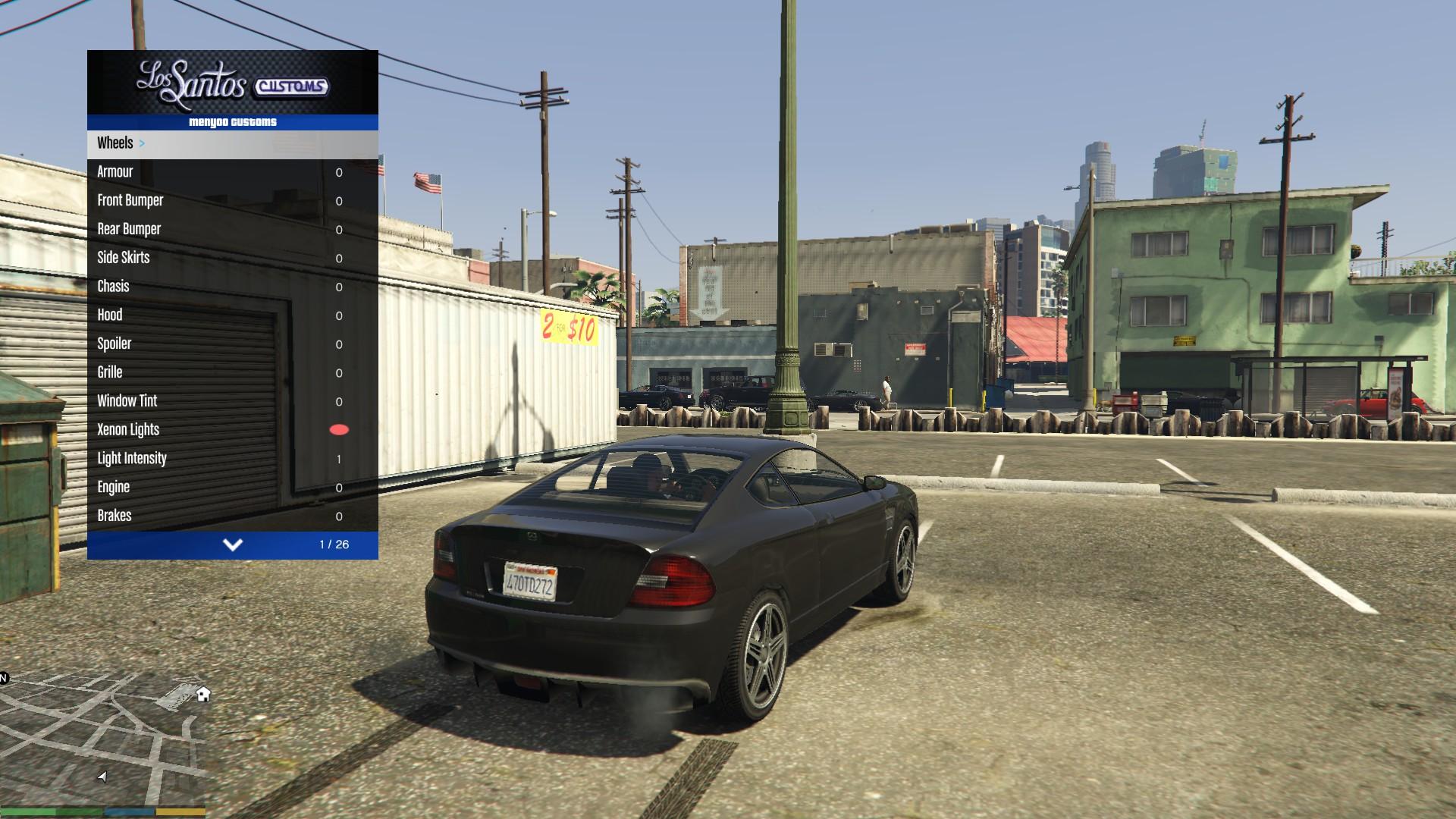 Grand Theft Auto 5: Чит-Мод/Cheat-Mode (Menyoo PC [SP] v0 9992b