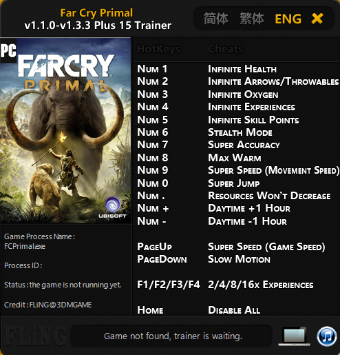 Far cry game trainers: far cry 3 +16 trainer [v1. 05]  grizzly .