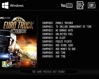 коды на деньги в игре euro truck simulator 2 видео