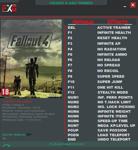Fallout 4 коды на легендарное оружие.
