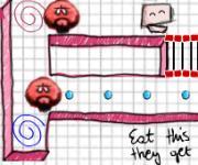 Square Man: Рисованный Пакман
