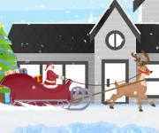Santa and Rudolph Sleigh Bridge