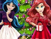 Новогодняя ёлка Дисней Принцесс