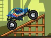 Monster Wheels 3: Монстр траки на трамплинах