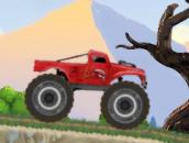 Monster Truck Flip Jumps - Прыгучий джип