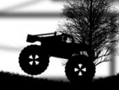 Monster Truck Shadow Racer: Мрачный гонщик