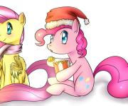 Ask Fluttershy and Pinkie Pie : Рождество Пинки