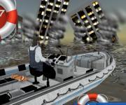 Swimming World Rescue 2017: Спасение на лодке