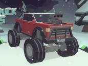 3D Monster Truck: IcyRoads - Ледяной джип