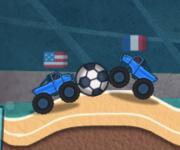 Monster Truck Soccer: Футбол с джипами