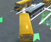 Bus Master Parking 3D: Огромный автобус