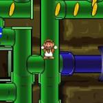 Mario Bros in Pipe Panic: Марио и Пэкмен