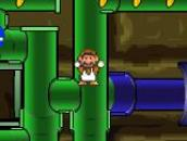Mario Bros in Pipe Panic: Марио и Пэкмен