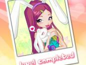 Winx Bunny Style: Round Puzzle - Винкс Кролик - пазл