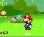 Mario Fruit Bubbles: Марио и фруктовые пузырьки